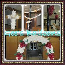 balloon arrangements chicago balloon decor communion decoracion con globos de primera