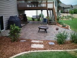 walkout basement patio designs home desain 2018