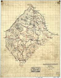 Maps Virginia by Maps Of Rappahannock County Virginia Genweb