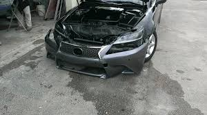 camry lexus conversion mating a gs350 f sport front bumper to the 2is step by step