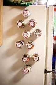Spice Rack Empty Jars Best 25 Magnetic Spice Jars Ideas On Pinterest Glass Jars