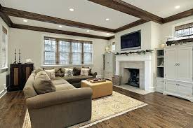 Living Room Ceiling Beams Tray Ceiling With Beams Simple Ceilings Living Room Transitional