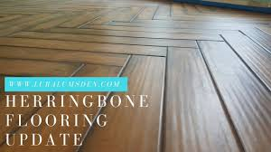 Herringbone Laminate Flooring Installing Herringbone Ceramic Hardwoods Flooring An Update On