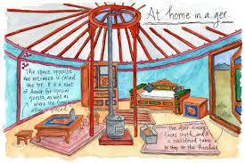 Living In A Yurt by Guest Post An Illustrated History Of Yurts Rainier Yurts