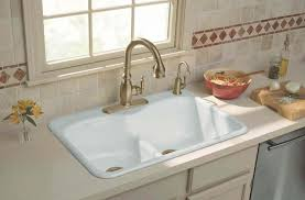 kohler faucets kitchen sink kitchen stylish high arc centerset kitchen sink faucet with 2