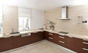 modern kitchen without cabinets where all the cabinets conestoga tile