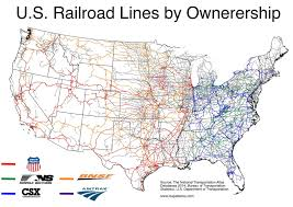 Amtrak Northeast Regional Map by U S Railroads By Ownership 1024x724 Mapporn