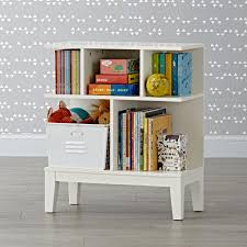 sprout small walnut bookcase the land of nod