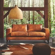 sofa leder braun ledersofa aus echtleder in braun bei mömax günstig zu