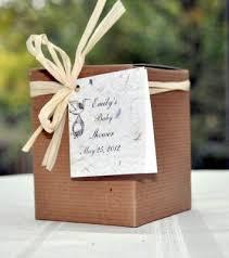 seed favors seed for baby showers plant a memory favors gifts