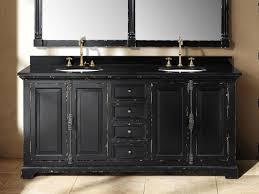 black bathroom cabinet ideas magnificent how to distress bathroom cabinets memsaheb net at