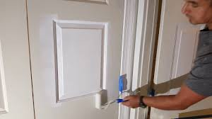 How To Paint An Interior Door by How To Paint Interior Doors Youtube