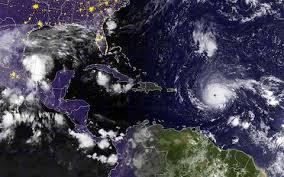 first 24 hours of destruction as hurricane irma tears through atlantic