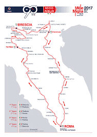 Rimini Italy Map by Route