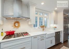 white kitchen cabinets with gold countertops white shaker kitchen with gold accents norfolk kitchen bath