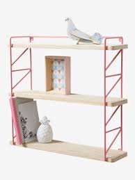etagere pour chambre enfant étagère murale enfant meubles rangements pour enfants vertbaudet
