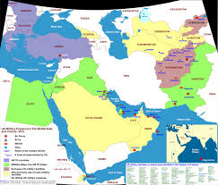 Map Middle East by Islam Maps Wim U0027s Blog