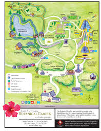 Map Of San Antonio Texas Garden Map San Antonio Botanical Garden