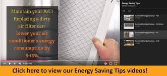 energy saving tips for summer summer energy tips