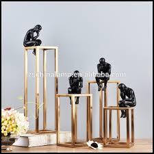 Items For Home Decoration Saudi Arabia Custom Luxury Handmade Abstract Metal Craft Home