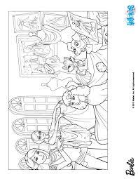 barbie u0027s pet friends coloring pages hellokids com