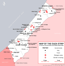 Map Of The Strip Resource Map Of Gaza Strip Sixteen Minutes To Palestine