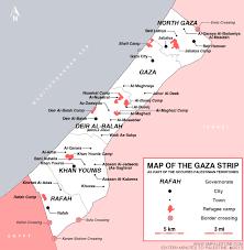Resource Map Resource Map Of Gaza Strip Sixteen Minutes To Palestine
