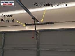 Overhead Garage Door Spring Replacement by My Garage Door Spring Broke It Has One Spring Should I Upgrade
