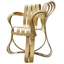 Sale Armchair Cross Check Bent Plywood Arm Chair By Frank Gehry For Knoll For