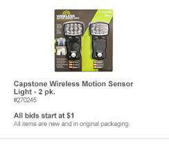 capstone wireless motion sensor light 2 pk sam s club save on jewelry flowers and more this mother s day milled