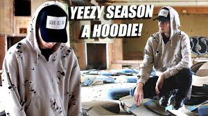 how to yeezy season hoodies best distressing tutorial with