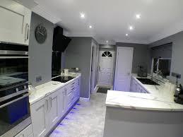 kitchen plinth lights portland dove grey
