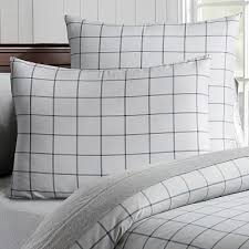 Black And White Twin Duvet Cover Twin Plaid Duvet Cover Pbteen