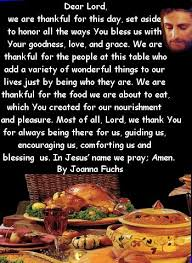 meal thanksgiving prayer festival collections