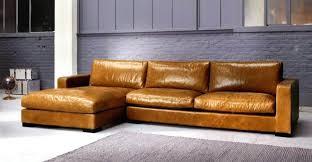 canap marron cuir canap en cuir cool canape noir et blanc convertible canapac cuir