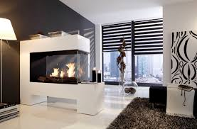 ethanol kamin design bioethanol fireplace contemporary open hearth sided