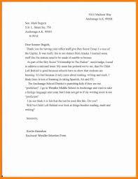 letter format for format