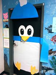 door decorations ideas for i did s crafts i penguin classroom door