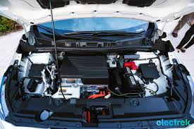 nissan leaf trunk space 70 new nissan leaf 2018 engine bay motor space hood open national