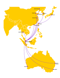 Singapore Airlines Route Map by Scoot World Airline News Page 2