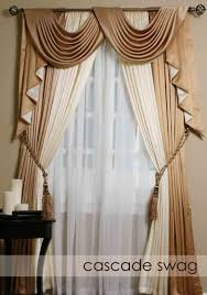 living room window swag ideas living room valances for living