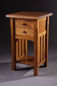 mission style side table tables hm woodworks mission style side table iron wood