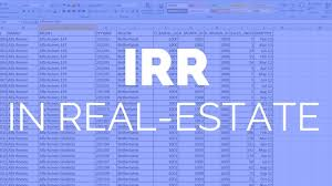 real estate investing finance for beginners irr internal rate of