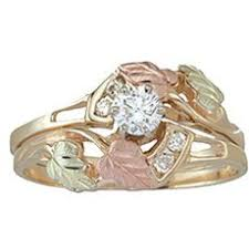 dakota wedding band 31 best black gold wedding rings images on black