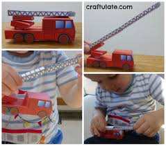 fire and fire trucks for toddlers craftulate