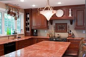 granite countertop french style kitchen cabinets backsplash