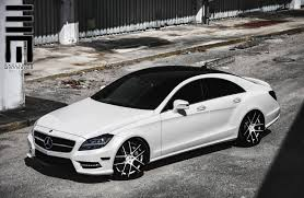 mercedes benz cls550 with avant garde wheels by exclusive motoring