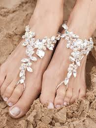 barefoot sandals for wedding bridal barefoot sandals for hawaii weddings best