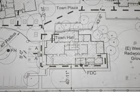building site plan overview of building planning portola valley ca