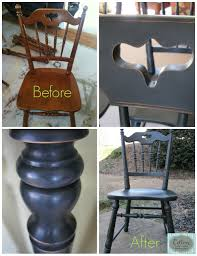 maple dining chairs before and after of dining chairs transformed from maple color to